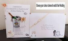 WOW! fatti a mano personalizzato CIVILE/Nozze/Matrimoni gay Card & corrispondenza BUSTA