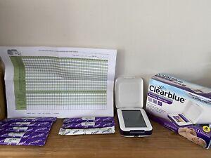 CLEARBLUE Advanced Fertility Monitor & Fertility Ovulation Sticks Exp 4/21