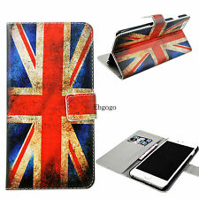 """Leather Flip Card Phone Wallet Protector Case Cover For Apple iPhone 6 Plus 5.5"""""""