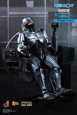 HOT TOYS 1/6 ROBOCOP MMS203D05 WITH MECHANICAL CHAIR DOCKING STATION FIGURE