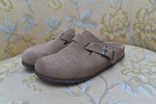 Birkenstock Tan Suede Slip On Clogs Mules Size 38 Womens 7-7.5 Mens 5 (US)