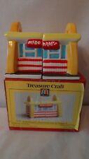 Treasure Craft 1997 McDonald's Arches 1st Restaurant Salt and Peppers MIB #K107