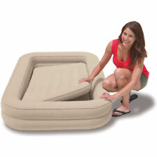 Intex Inflatable Kids Travel Air Bed Set Airbed Mattress with Pump Inflator