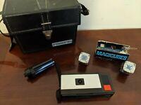 VINTAGE 1970 KODAK POCKET INSTAMATIC 20 Camera with Case & magic Flash Cubes