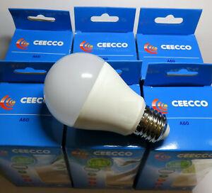 6 ampoules LED 10W E27  3000K