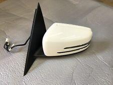 2012-14 Mercedes Benz C250 Door Mirror Driver Left Side OEM White A2048108793