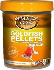 Omega One Medium Goldfish Pellets 4.2 oz