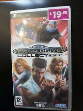 Sony PSP Sega Megadrive Colección Disco de Juego PAL Reino Unido