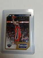 2019-20 Chronicles Panini Threads Zion Williamson Pelicans Rookie RC 78