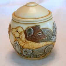 "Jardinia ""Puppy Litter"" Trinket Pot Mps Harmony Kingdom"