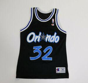 Vintage 1990s ORLANDO MAGIC Shaquille O'Neal #32 NBA Champion Jersey Men's 36 S