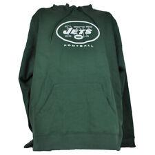 NFL New York Jets Football Fleece Hoodie Pullover Mend Adult Long Sleeve Green
