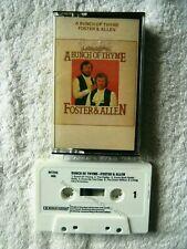 41256 Foster & Allen A Bunch Of Thyme Cassette Album