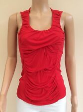 *NEW* F&F Red Vest Top Size 10    JT55