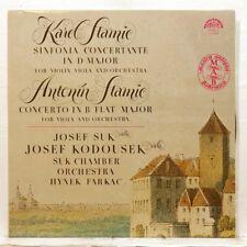 JOSEF SUK & KADOUSEK - STAMIC sinfonia concertante, concerto SUPRAPHON LP NM