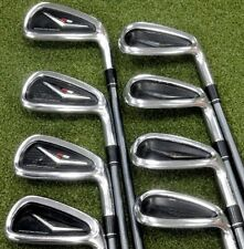 TaylorMade R9 Iron Set Irons Right Hand 4-PW + AW Graphite Motore Stiff Flex