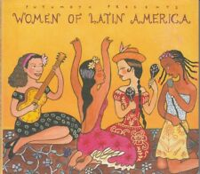 Woman Of Latin America Putumayo Presents CD Digipak Promo FASTPOST