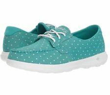 Skechers Women's Go Walk Lite-Soleil Boat Shoe Turquoise Size 8.5
