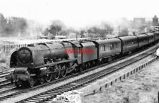 PHOTO  LMS LOCO NO 46229 DUCHESS OF HAMILTON. DEPT. RUGBY. 8.7.61