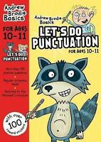 Let's do Punctuation 10-11 by Brodie, Andrew (Paperback book, 2017)