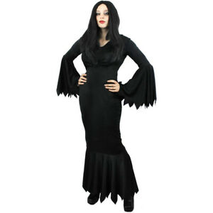 LADIES VAMPIRE COSTUME HALLOWEEN FANCY DRESS WITCH OUTFIT WOMENS UK SIZES 6-24
