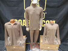 New Set*Military Issue Cold Weather Lightweight Undershirt & Drawers*Size Large