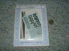 Microscale decals N 60-252 Burlington Northern General Freight #2  C79