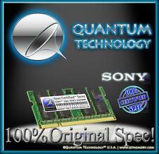 4GB DDR3 1333 RAM MEMORY FOR SONY VAIO VPC VPCEJ3M1E VPCEL2S1E W VPCF111FX NEW!!