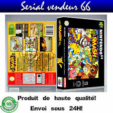 "Boitier du jeu "" SUPER SMASH BROS "", Nintendo 64, visuel PAL FR. HD"