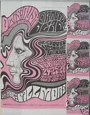 UNCUT SHEET,  BILL GRAHAM Poster Handbills, BG 51, 1967