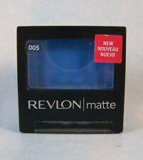 Revlon Matte Powder Eye Shadow Single  - Venetian Blue 005