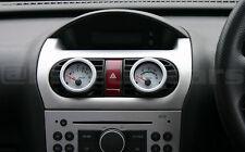CORSA c chauffage vent 52mm jauge pod noir panneau adapter.twin Pack