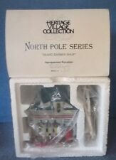 Dept.56 North Pole Series Bearded Barber Shop Nib/Fs + More Dept 56 Listed