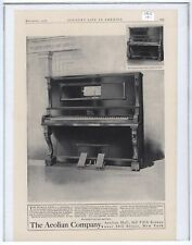 Rare Original VTG 1906 Metrostyle Pianola Piano Aeolian Co Advertising Art Print
