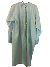 Surgical Gown 100% Polyester Fabric Washable, XL size, Handmade In US