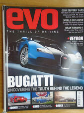 Evo No 78 Apr 2005 Veyron, Edonis, EB110, Dauer, Bristol Fighter