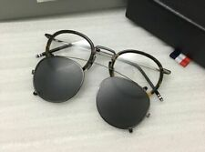 Vintage Unisex Removable Lens Polarized Clip On Sunglasses Retro Reading Glasses