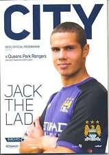 MAN CITY v QPR 2012/13 MINT PROGRAMME MANCHESTER