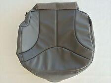"""2000-2002 YUKON, SIERRA LEATHER PASSENGER SEAT COVER-MED.PEWTER """"GRAY"""" #922"""