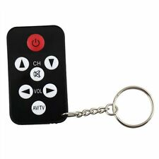 Mini Universal TV Set 7 Keys Television Remote Control Controller Keychain CA