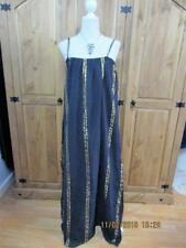 VTG 70S INDIAN COTTON LONG TALL GRECIAN STYLE MAXI DRESS SZ 14/16 GODDESS HIPPY