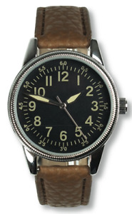 EagleMoss Military Collection US Airman's Watch 1940's ISSUE #82 Brand New Boxed