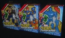 WOLVERINE, MARVEL'S NOVA & A-BOMB Marvel Super Hero Mashers Hasbro X-Men MIP