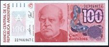 1985-90 Argentina 100 Australes Banknote * Series C * UNC * P-327c *