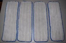 Micro Fiber MOP PADS, Euroclean Euro Clean - 4 PACK - Brand New! CLEANING PAD