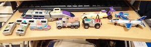 Matchbox Connectables Vintage 1990s Toy Cars Vehicles Job Lot Bundle 26 pieces