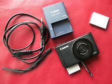 Canon PowerShot S110; Profi- Kompakt; LICHTSTARK! 2,0; 24 mm TOUCHDISPLAY! WIFI