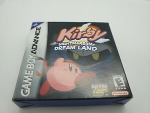 Kirby: Nightmare in Dream Land (Nintendo Game Boy Advance, 2002) with Box