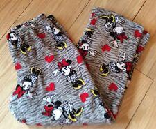 LI02~Ladies DISNEY Minnie Mouse Pajama Pants, Medium (8-10)