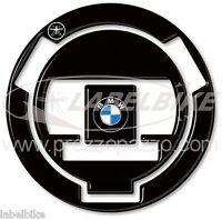 PEGATINA ADHESIVO 3D NEGRO PROTECCIÓN TAPO DEPÓSITO PARA MOTO BMW 2007-2014